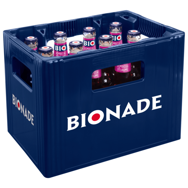 Bionade Himbeer-Pflaume 12x0,33l