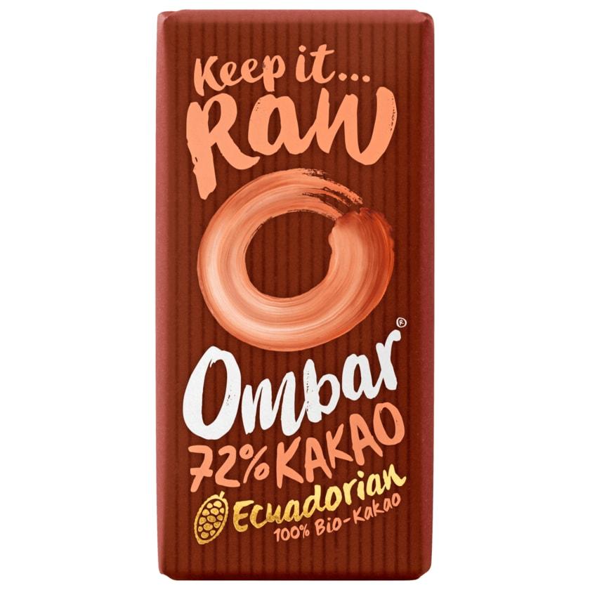 Ombar Bio Schokolade 72% Kakao 35g