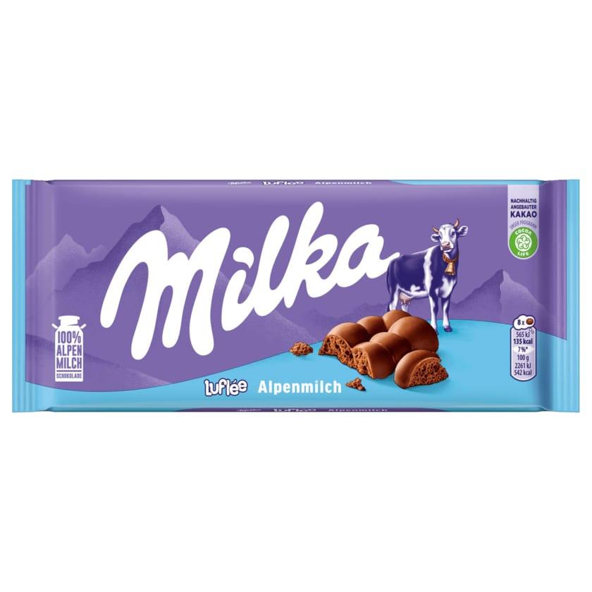 Milka Schokolade Luflée 100g