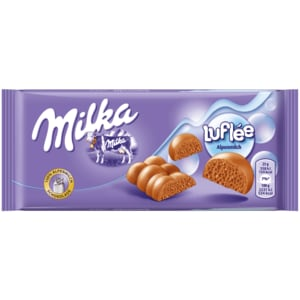 Milka Luflée Schoko Tafel 100g