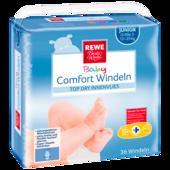 REWE Beste Wahl Baby Comfort Windeln Junior Größe 5 12-25kg 36 Stück