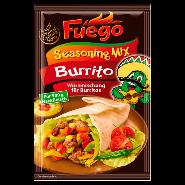 Fuego Burrito Seasoning-Mix 35g