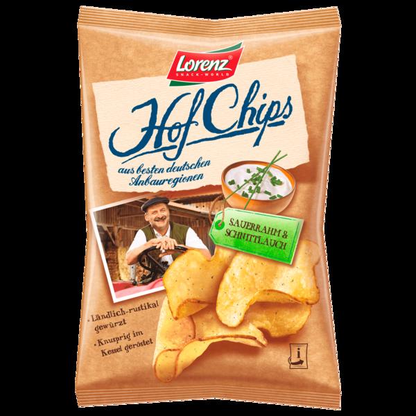 Lorenz Hof-Chips Sauerrahm & Schnittlauch 110g