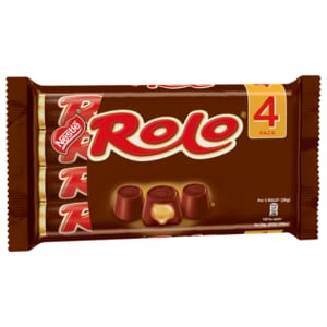 Nestlé Rolo Praline mit Toffee 4x52g