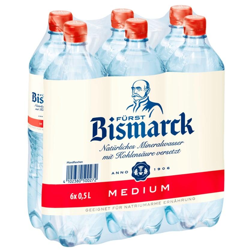 Fürst Bismarck Mineralwasser Medium 6x0,5l
