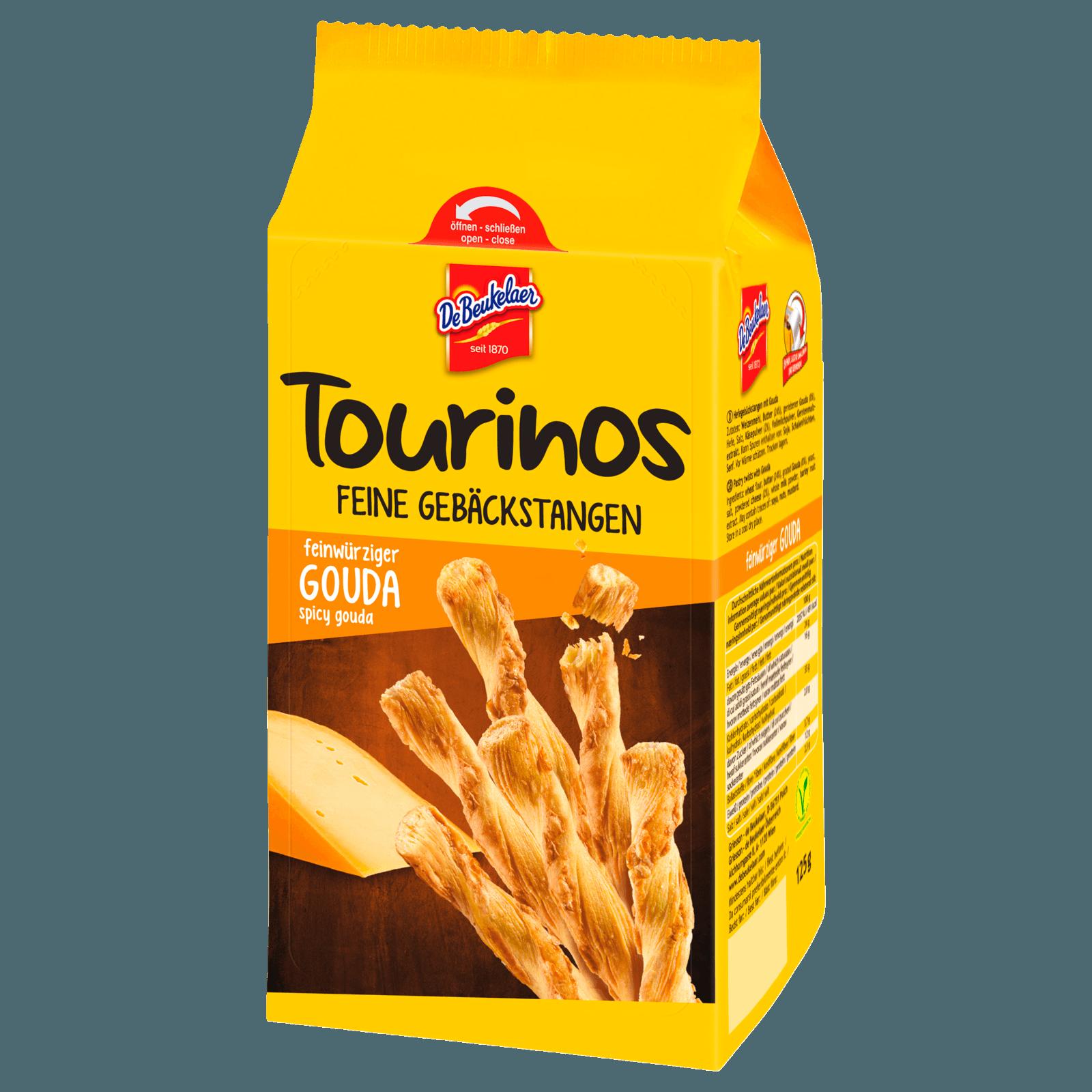 De Beukelaer Snacks Tourinos Feinwürziger Gouda 125g
