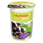 Lobetaler Bio Fruchtjoghurt mild Schwarze Johannisbeere 500g