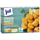 ja! Chicken Nuggets gold-gelb paniert 500g