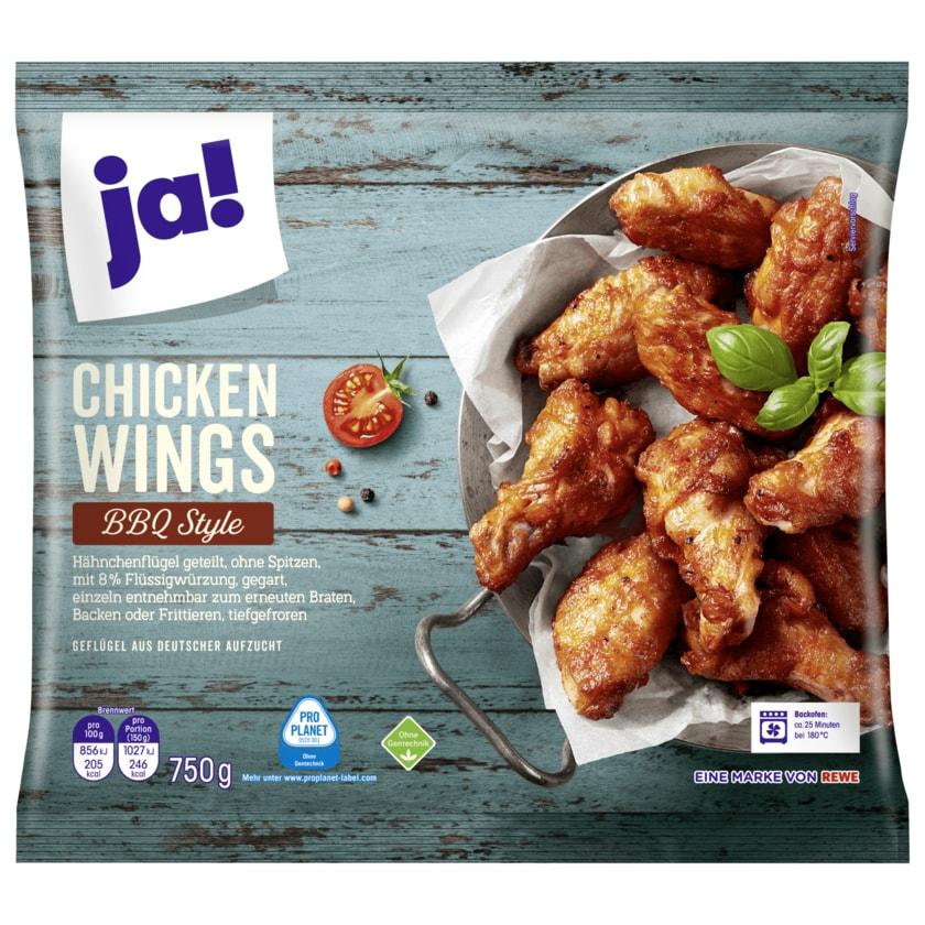 ja! Chicken Wings BBQ Style 750g
