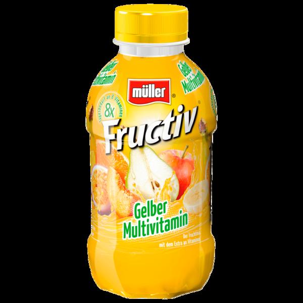 Müller Fructiv Gelber Multivitamin 440ml