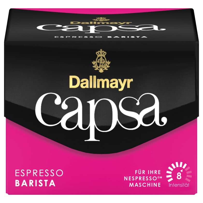 Dallmayr Capsa Espresso Barista 56g, 10 Stück