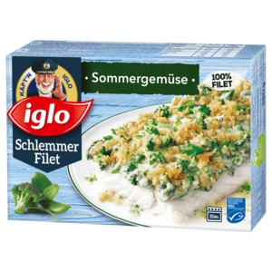 Iglo Schlemmer-Filet Sommergemüse 380g