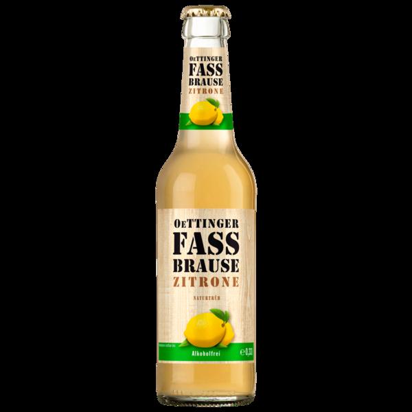 Oettinger Fassbrause Zitrone 0,33l