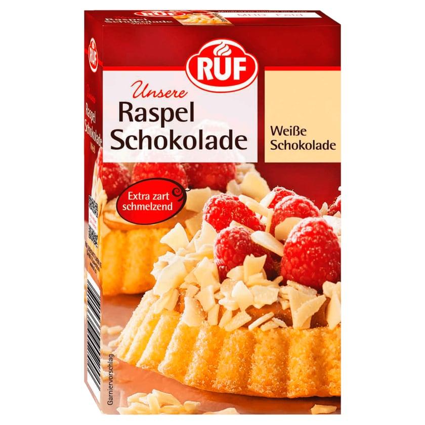 Ruf Raspel-Schokolade weiß 100g