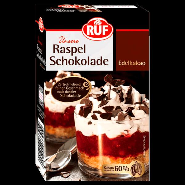 Ruf Raspel-Schokolade Edelkakao 100g