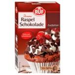 Ruf Raspel-Schokolade Zartbitter 100g