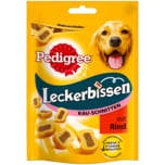 Pedigree Hundesnack Leckerbissen Kau-Schnitten mit Rind 155g