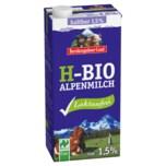 Berchtesgadener Land H-Bio Alpenmilch laktosefrei 1,5% Fett 1 Liter