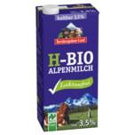Berchtesgadener Land Haltbare Bio-Alpenmilch laktosefrei 3,5% 1l