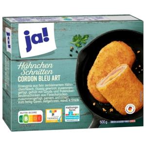 ja! Hähnchenschnitten Cordon Bleu 500g