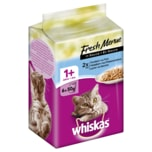 Whiskas 1+ Fresh Menue in Sauce 6x50g