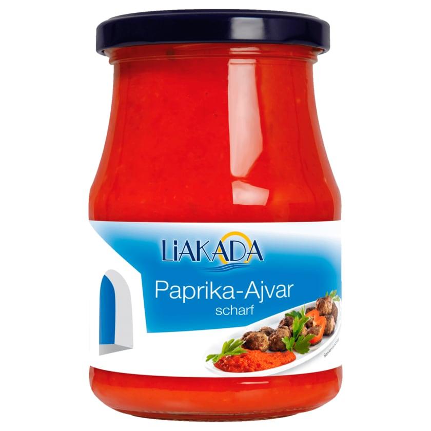 Liakada Paprika-Ajvar scharf 370ml