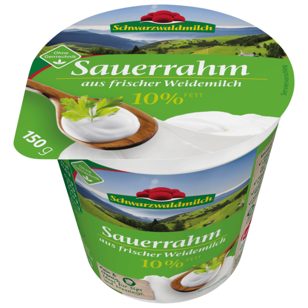 Schwarzwaldmilch Sauerrahm 10% 150g