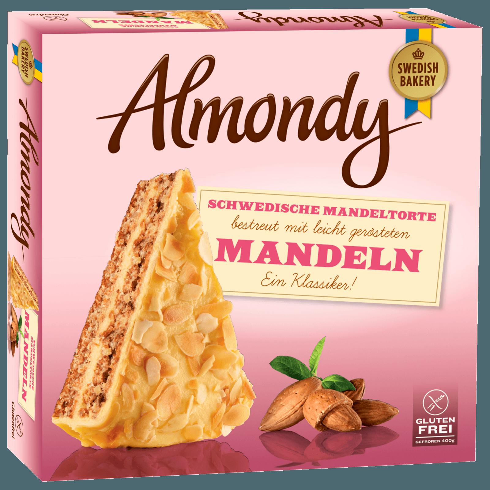 Almondy Schwedische Mandeltorte 400g Bei Rewe Online Bestellen
