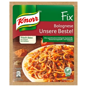Knorr Fix Bolognese Unsere Beste 42g
