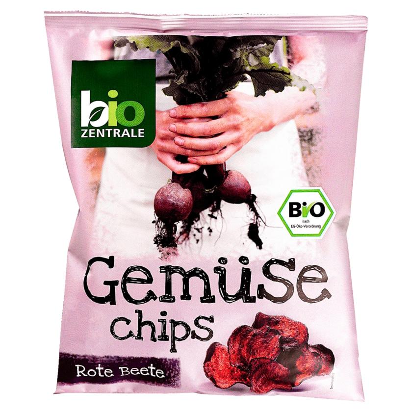 Biozentrale Bio Rote Bete Chips 90g