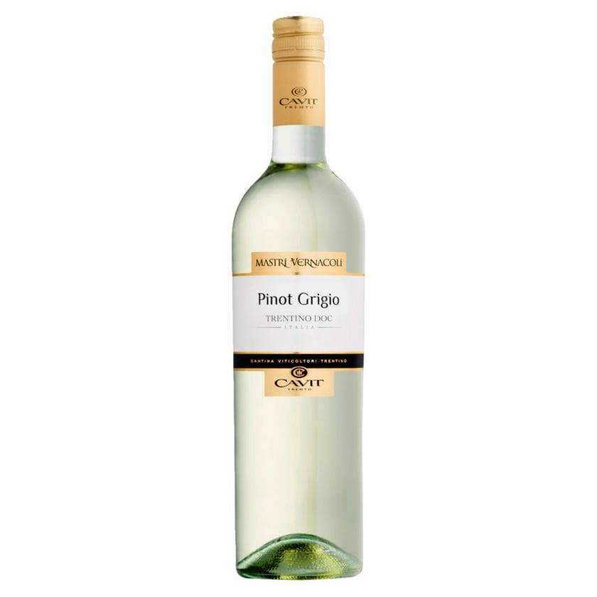 Cavit Trento Weißwein Pinot Grigio Trentino DOC trocken 0,75l