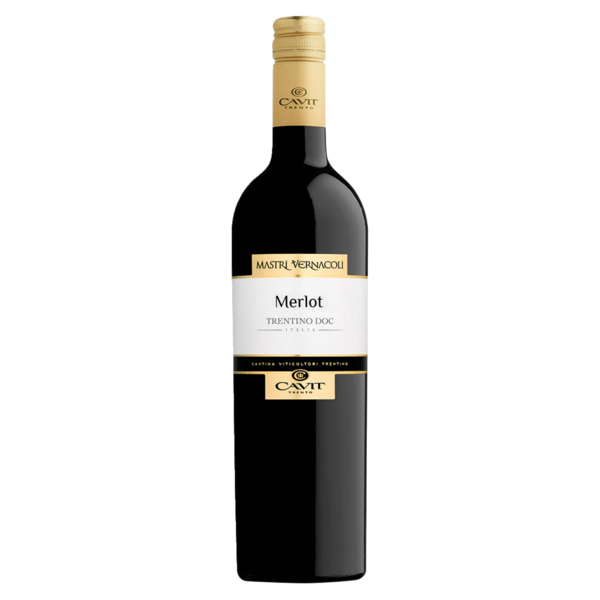 Cavit Trento Mastri Vernacoli Merlot Trentino Rotwein trocken 0,75l