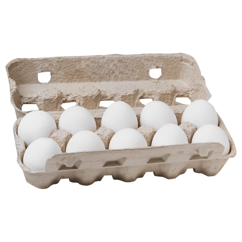 Bauernhof Schütte Eier Bodenhaltung 10 Stück