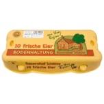 Bauernhof Schütte Eier Bodenhaltung Klasse L 10 Stück