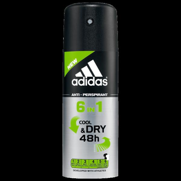 Adidas Men Deospray 6in1 Cool & Dry 48h 150ml