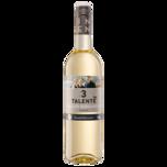 3 Talente Weißwein Bio Grauer Burgunder trocken 0,75l