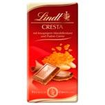 Lindt Schokolade Cresta Mandelkrokant Praliné-Crème 100g