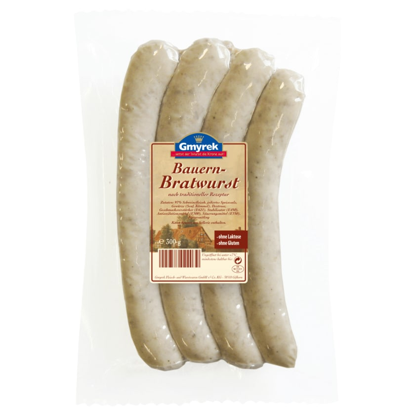 Gmyrek Bauern-Bratwurst 4 Stück