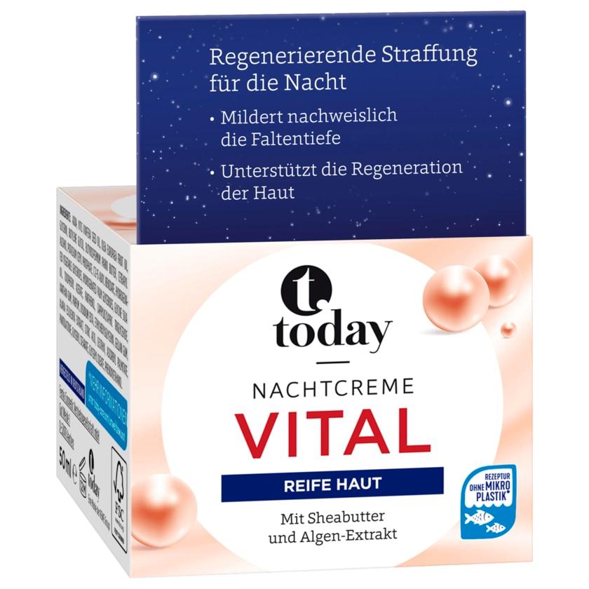Today Nachtcreme vital 50ml