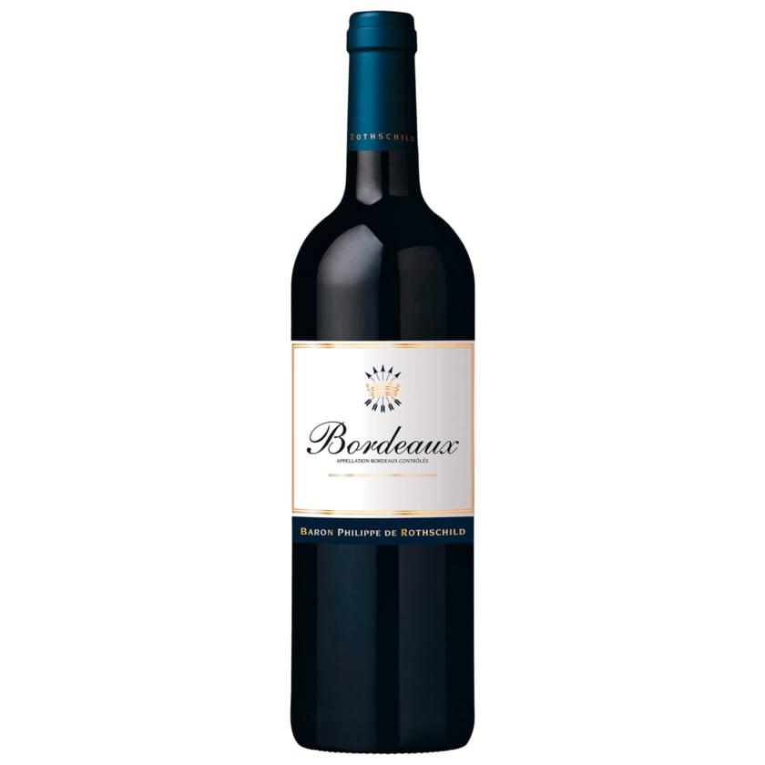 Baron Philippe de Rothschild Rotwein Bordeaux trocken 0,75l