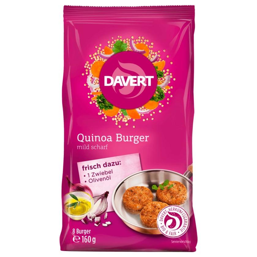 Davert Bio Quinoa Burger mild scharf 160g