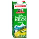 Berchtesgadener Land Frische Bergbauern-Milch 1,5% 1l