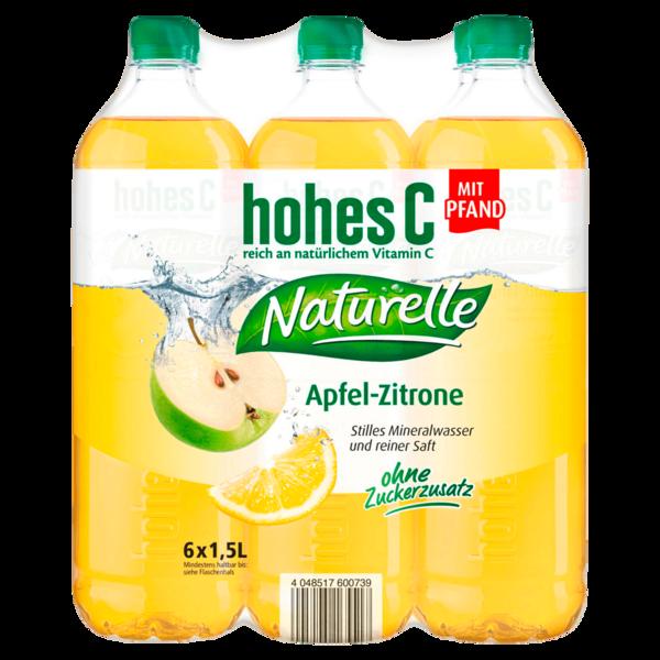 Hohes C Naturelle Apfel-Zitrone 6x1,5l