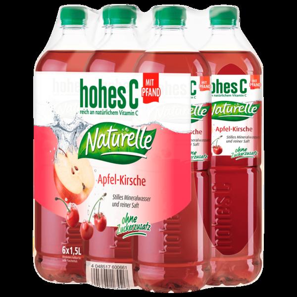 Hohes C Naturelle Apfel-Kirsch 6x1,5l
