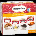 Häagen-Dazs Vanilla Attraction 4x100ml