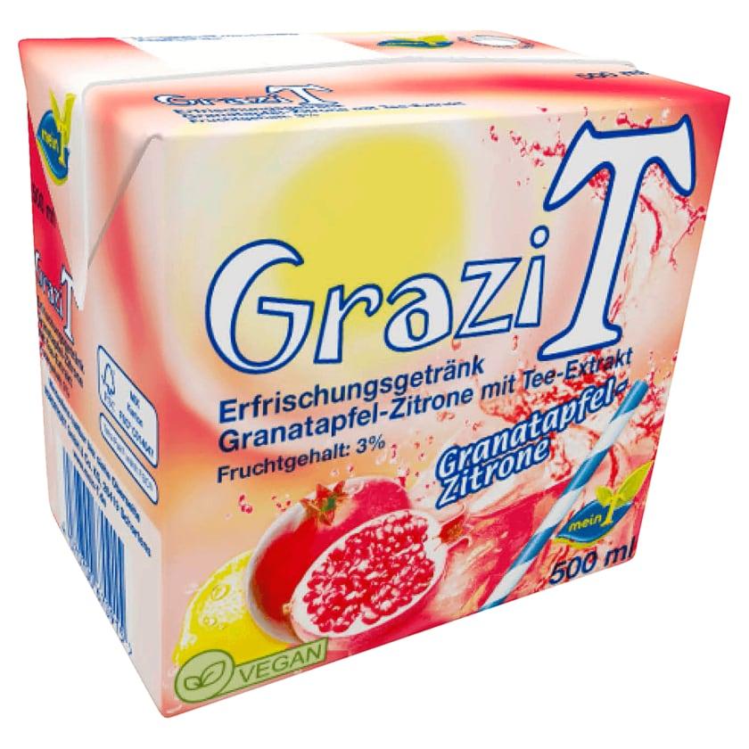 MeinT GraziT Granatapfel-Zitrone mit Tee-Extrakt 500ml