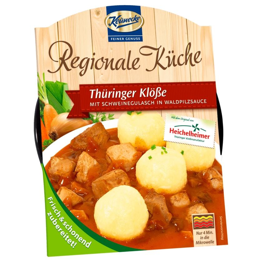 Keunecke Regionale Küche Thüringer Klöße Schweinegulasch 400g