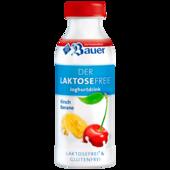 Bauer Joghurtdrink Kirsch-Banane laktosefrei 250ml
