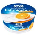 Weihenstephan Rahmjoghurt Spanische Orange 150g