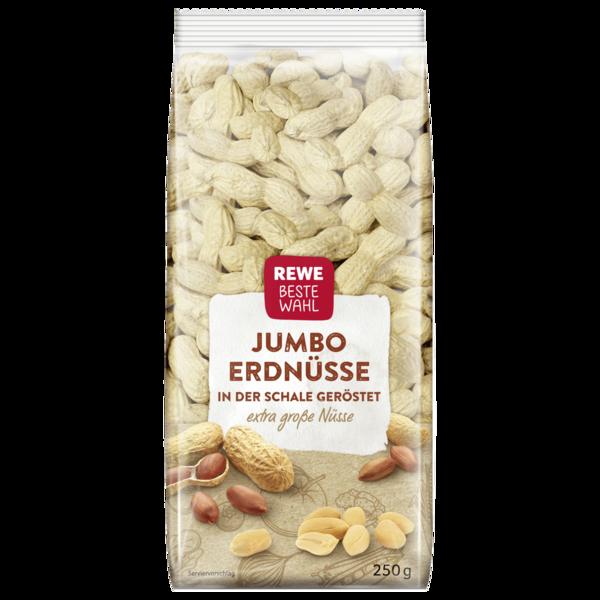 REWE Beste Wahl Erdnüsse in der Schale geröstet 250g